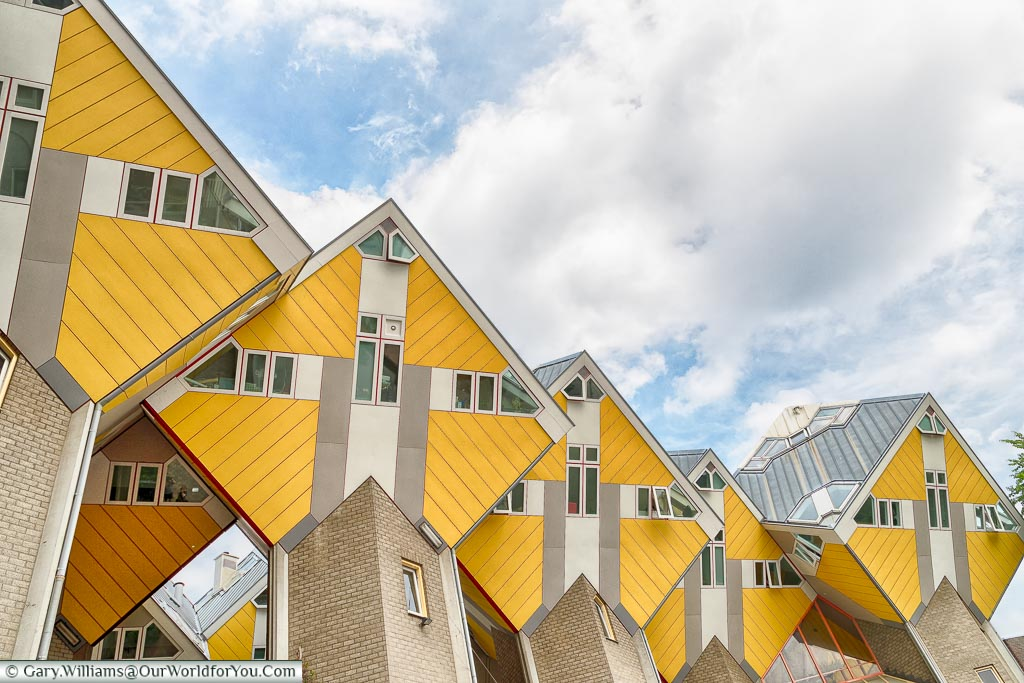 The Cube Houses, Rotterdam, Neterlands