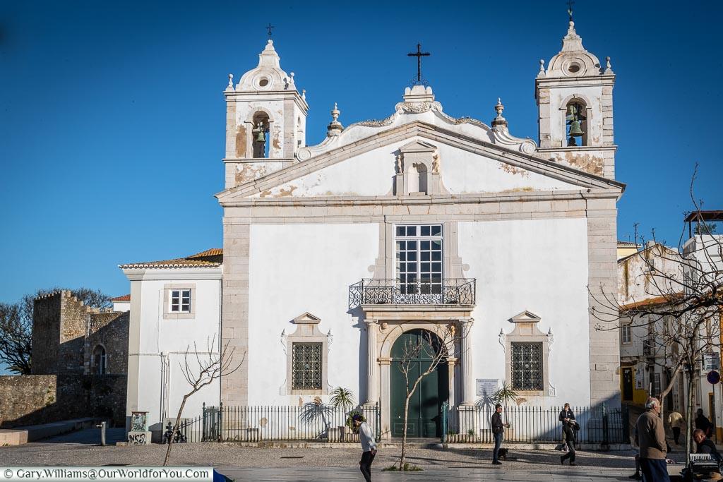 The church of Santa Maria, Lagos, Algarve, Portugal