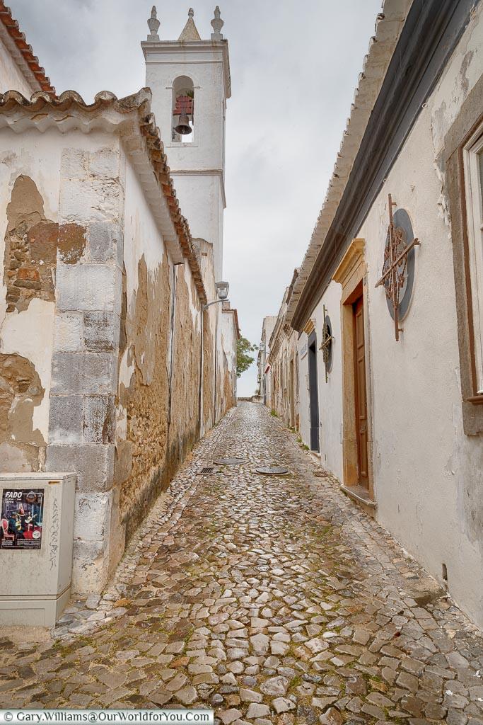 The lanes of Tavira, Argarve,  Portugal