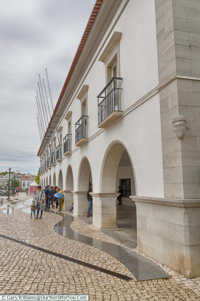 The town hall of Tavira, Argarve,  Portugal