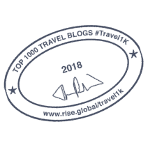 Top 1000 Travel Blogs Badge