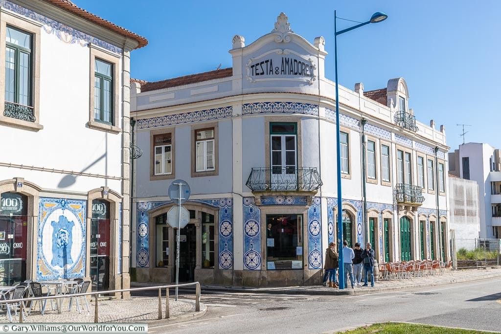 A local café, Aveiro, Portugal