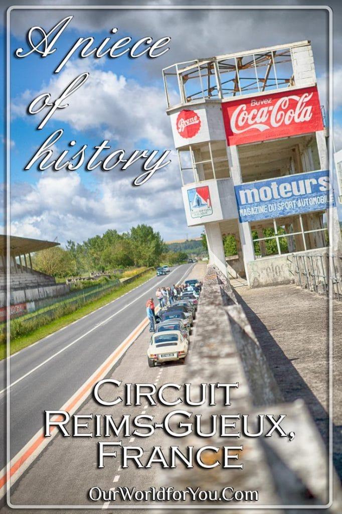 A piece of history – Circuit Reims-Gueux - Pinterest