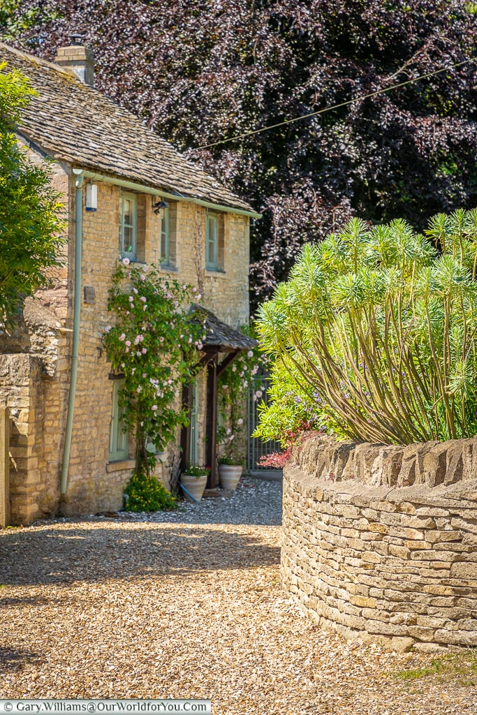 A quiet cottage, Northleach, Gloucestershire, England, UK
