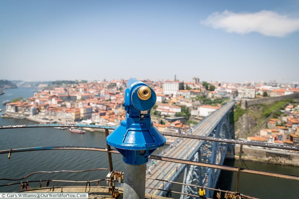 A view across Porto, Portugal