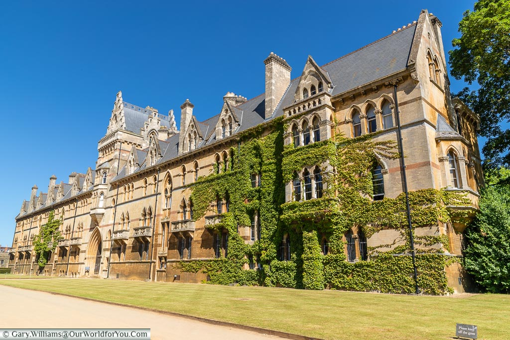 One entrance to Christ Church college, the Meadowgate on its southern side