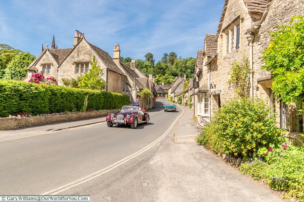 Classic England, Castle Combe, Wiltshire, England, UK
