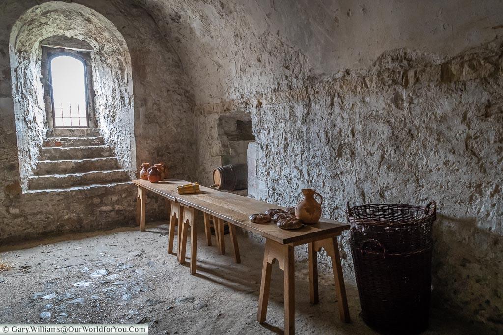 For entertaining, Dover Castle, Dover, Kent, England