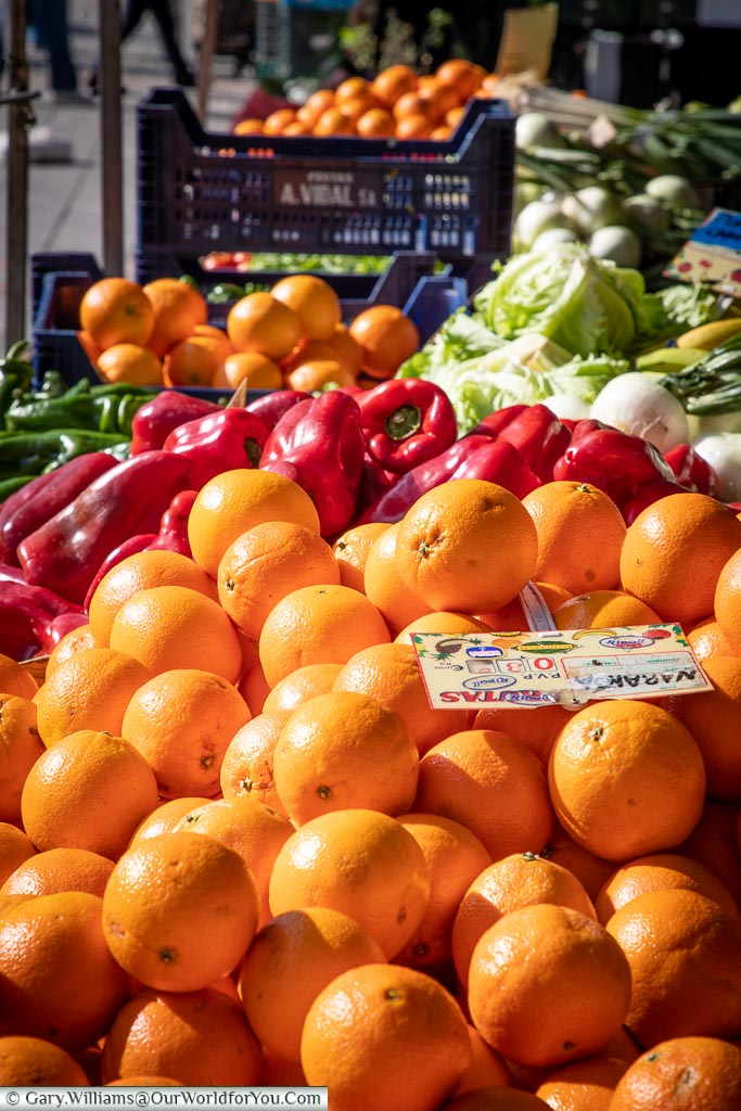 Fresh on the market, León, Spain