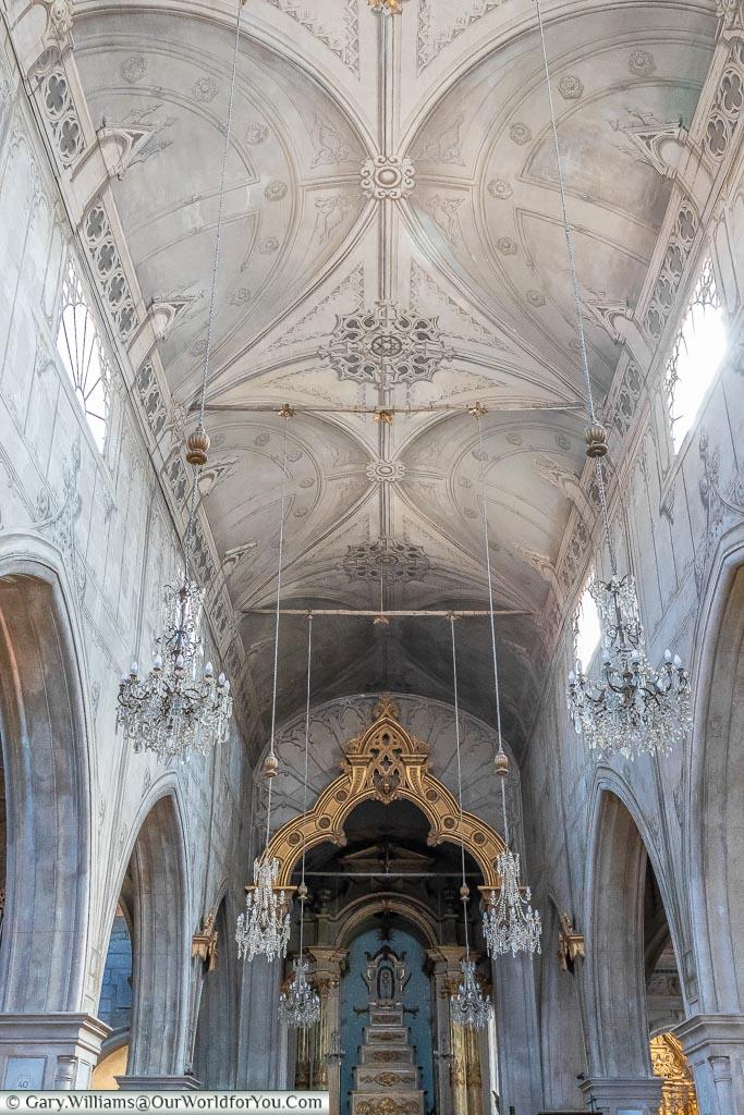 Inside the Sé Cathedral of Viana do Castelo, Portugal