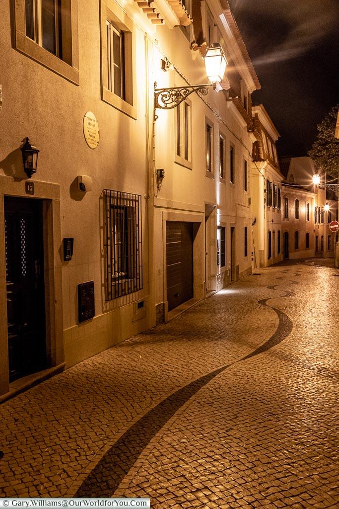The quiet lanes of Cascais, Portugal