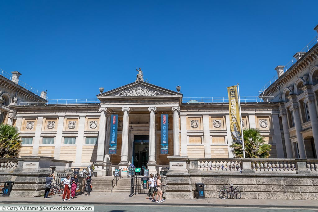 The Ashmolean Museum, Oxford, England, UK