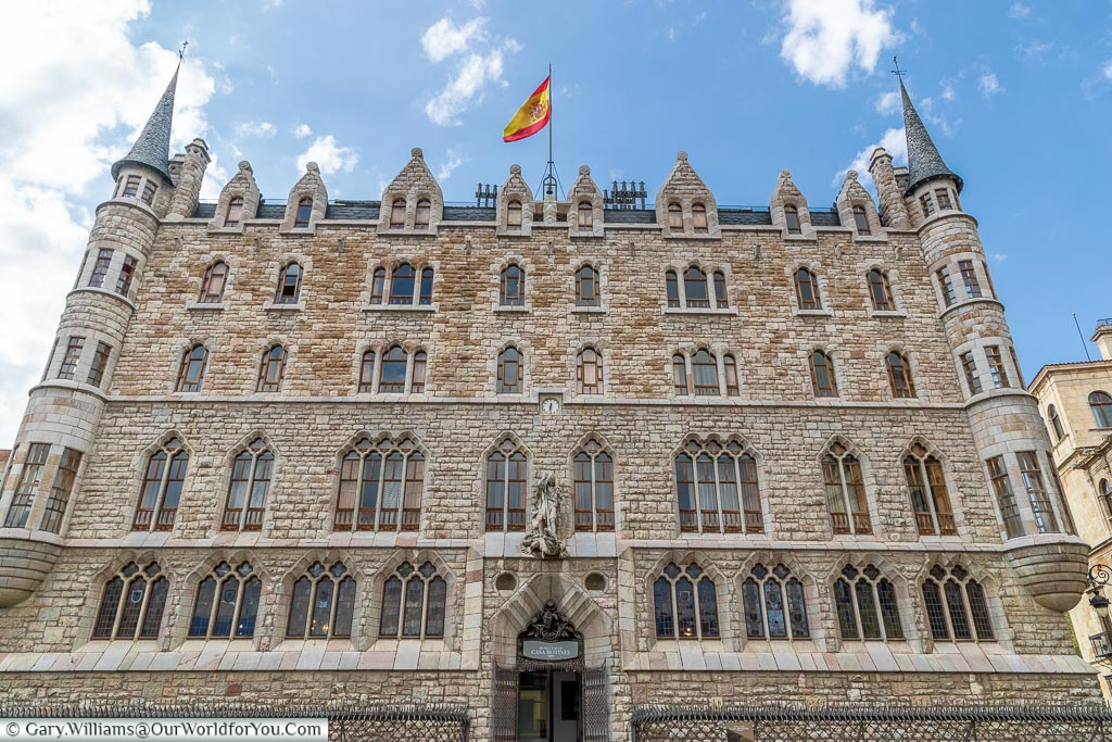 The Casa de los Botines, León, Spain