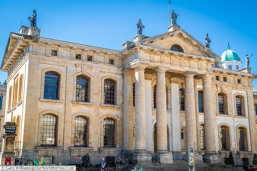 The Clarendon Building, Oxford, England, UK