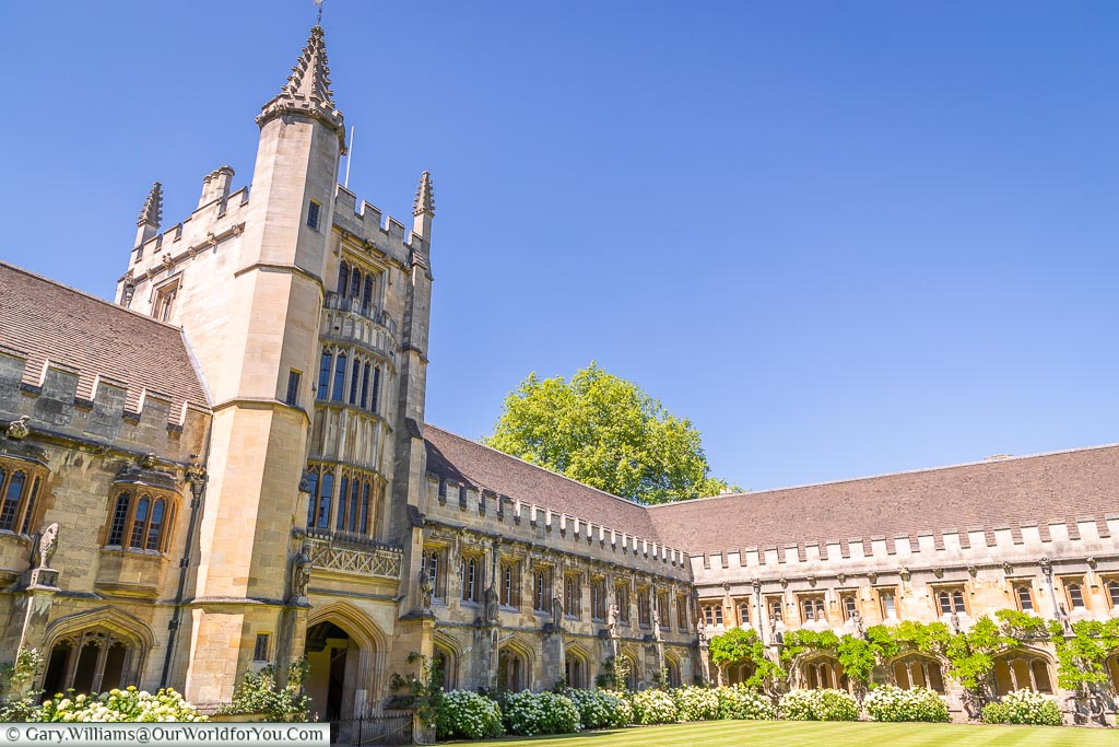 The Cloisters of Magdalen College, Oxford, England, UK
