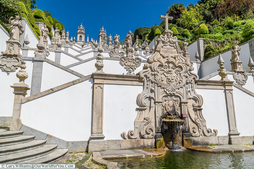 The Fountain of the Five Wounds of Christ, Bom Jesus do Monte, Portugal