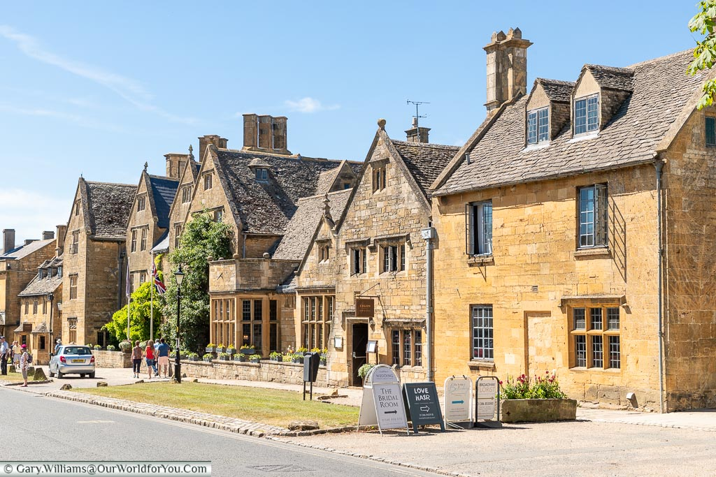 The High Street, Broadway, Worcestershire, England, UK