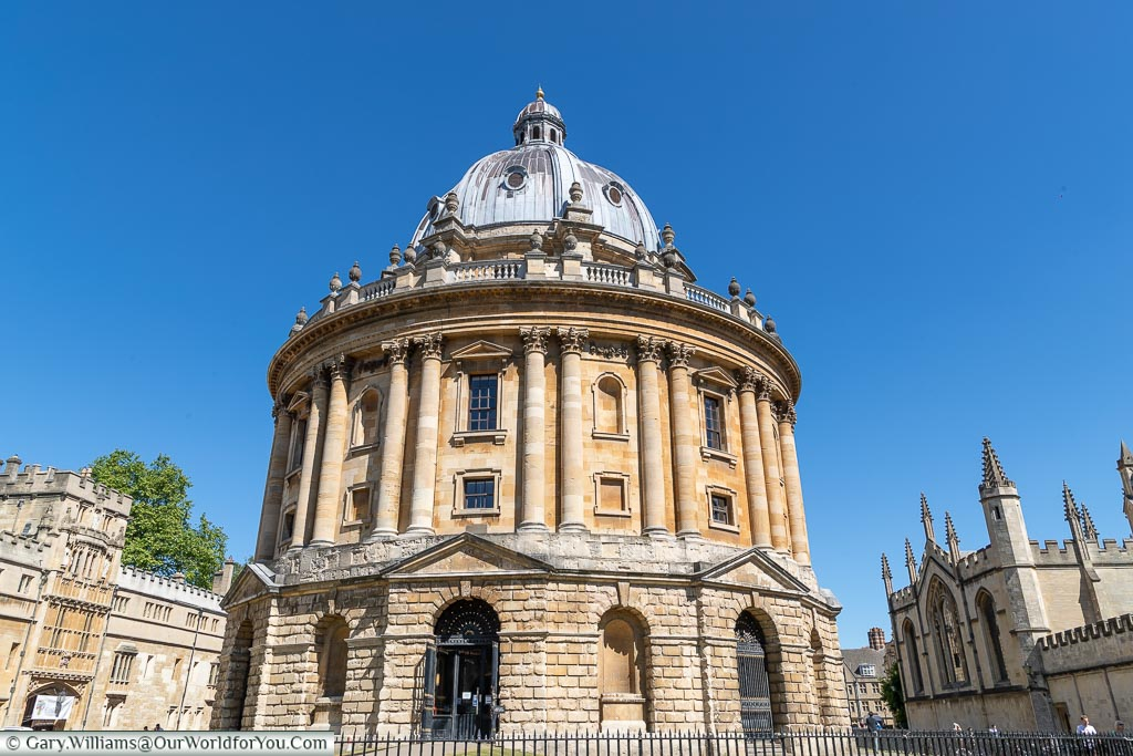 The Radcliffe camera, Oxford, England, UK