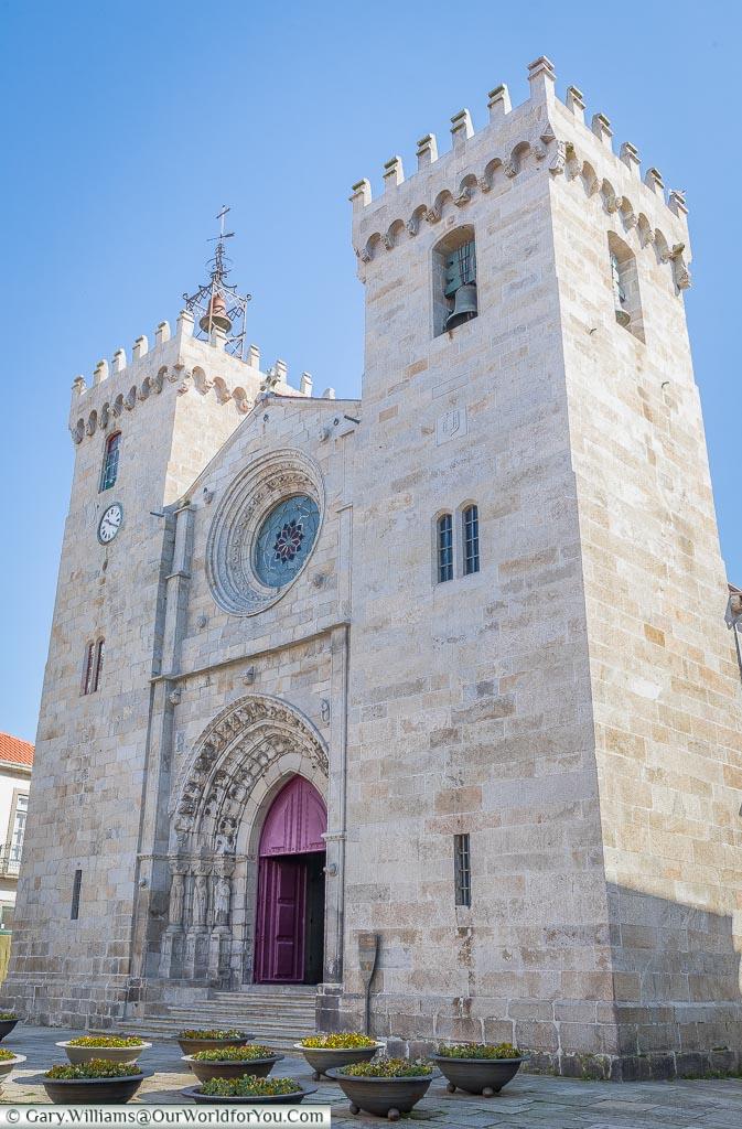The Sé Cathedral of Viana do Castelo, Portugal