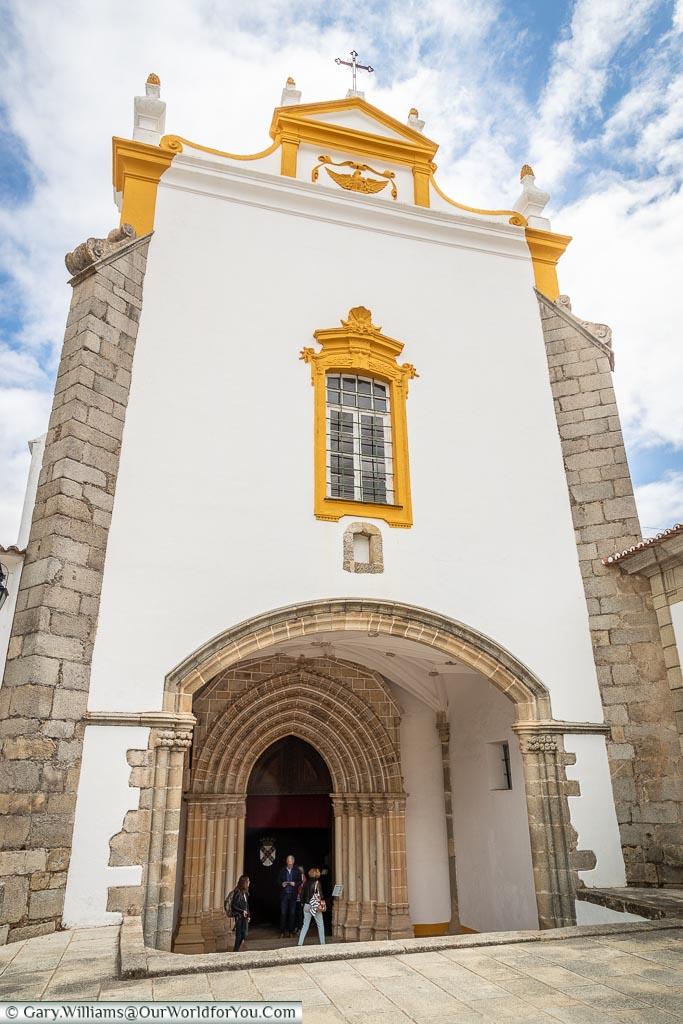 The entrance to the Évora Museum, Évora, Portugal