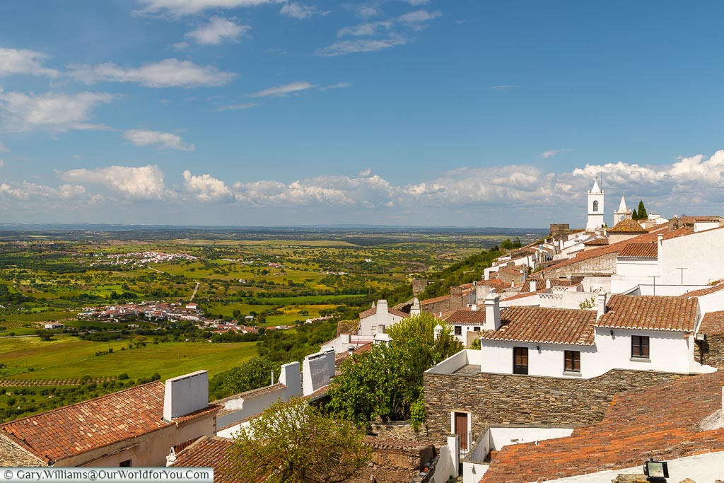 Across the rooftops, Monsaraz, Portugal