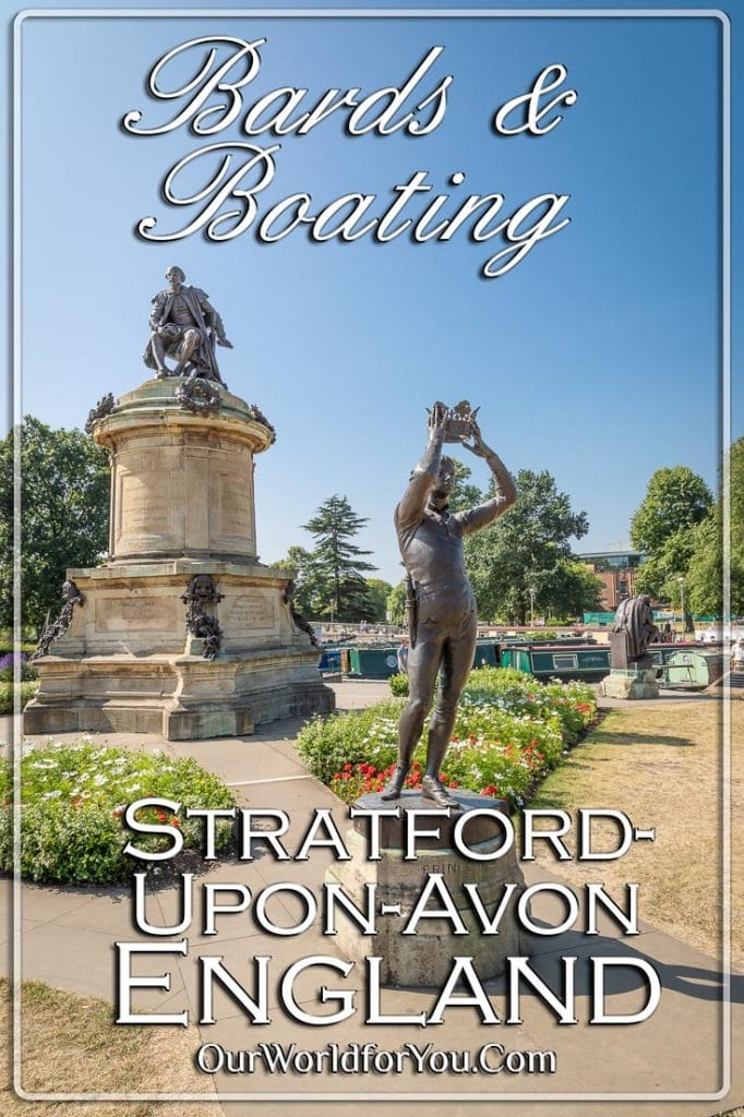 Bards & Boating, Stratford-upon-Avon, England