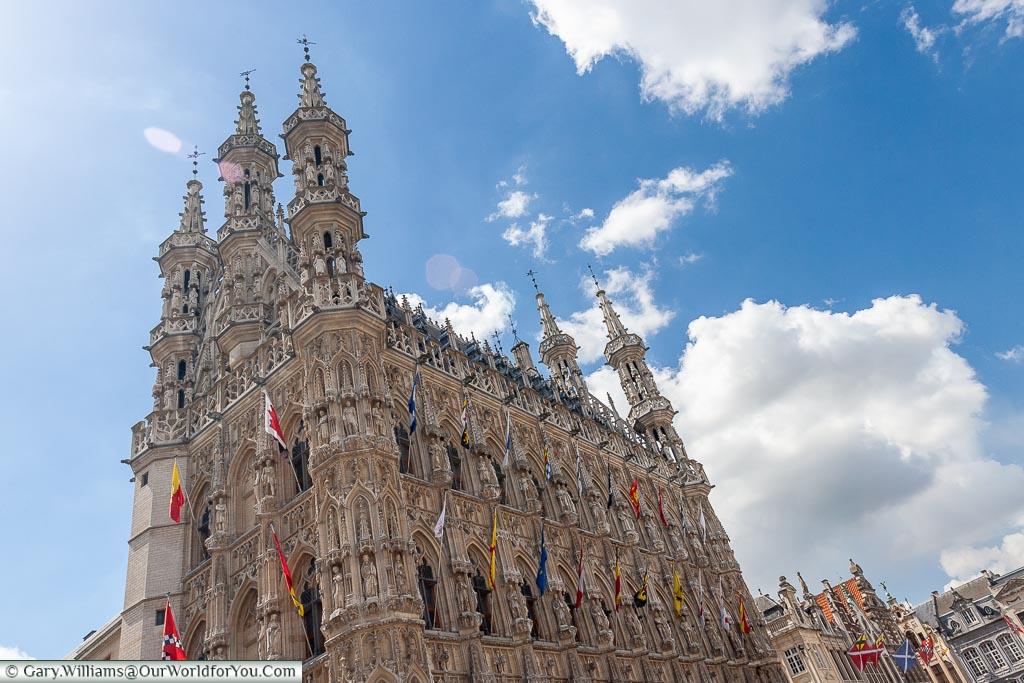Leuven Town Hall, Leuven, Belgium