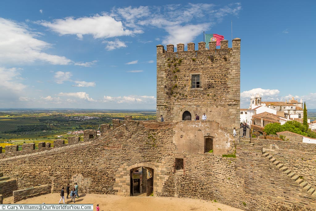The Castle Keep, Monsaraz, Portugal