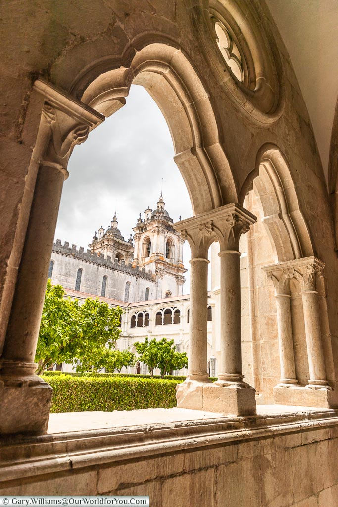 The Cloister of Dom Dinis, Monastery of Alcobaça, Portugal