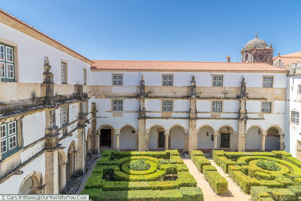 The Cloister of the Crows, Tomar, Portugal