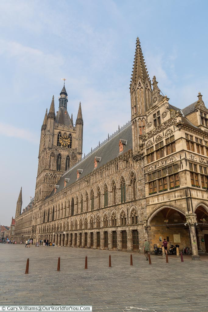 The Cloth Hall, Ypres, leper, Belgium