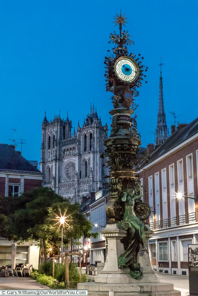 The Dewailly clock, Amiens, France