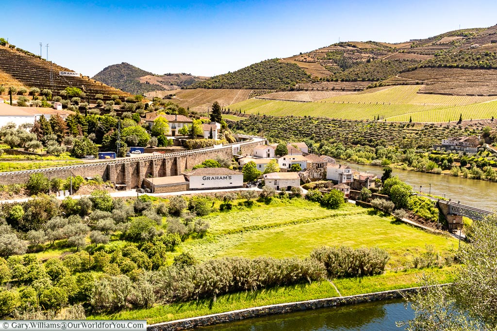 The Grahams estate, Douro Valley, Portugal