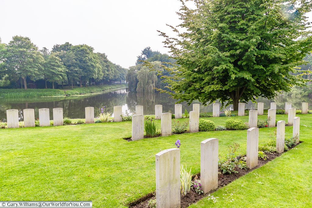 The Ramparts Cemetery, Ypres, leper, Belgium