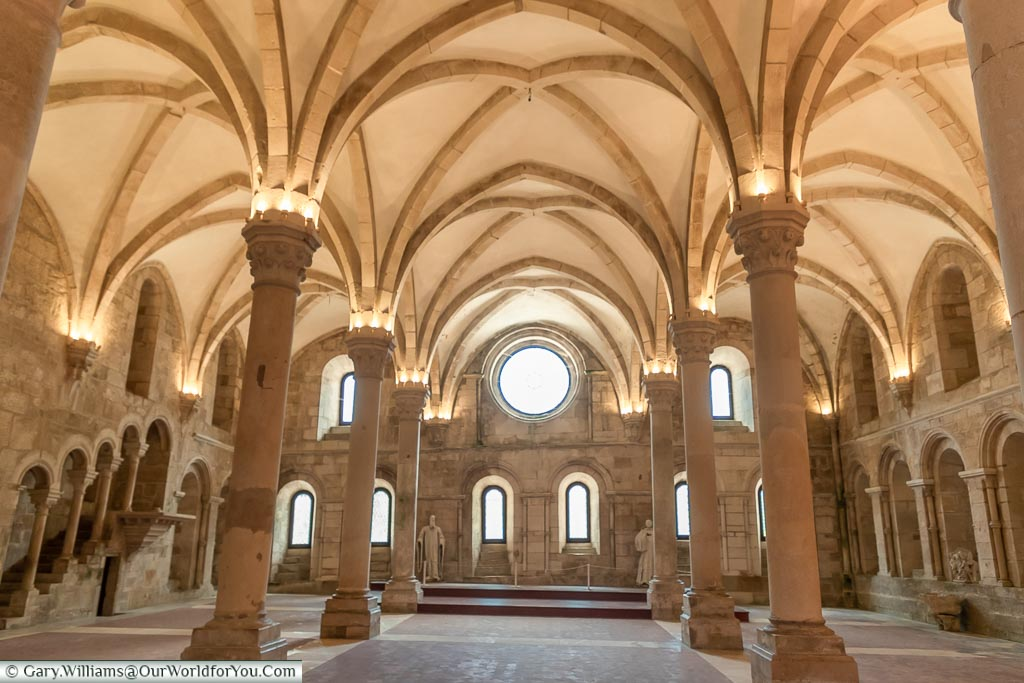 The Refectory, Monastery of Alcobaça, Portugal