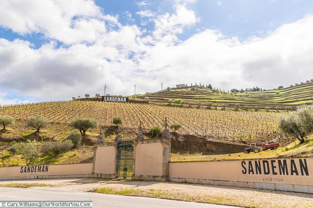 The Sandeman Estate, Douro Valley, Portugal