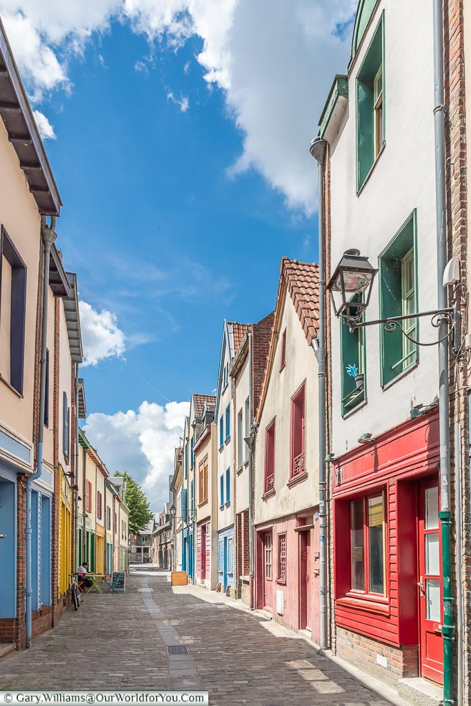 The colourful lanes, Amiens, France