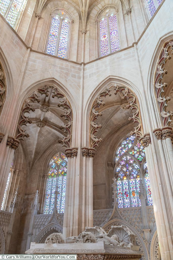 The founders chapel, Monastery of Batalha, Portugal