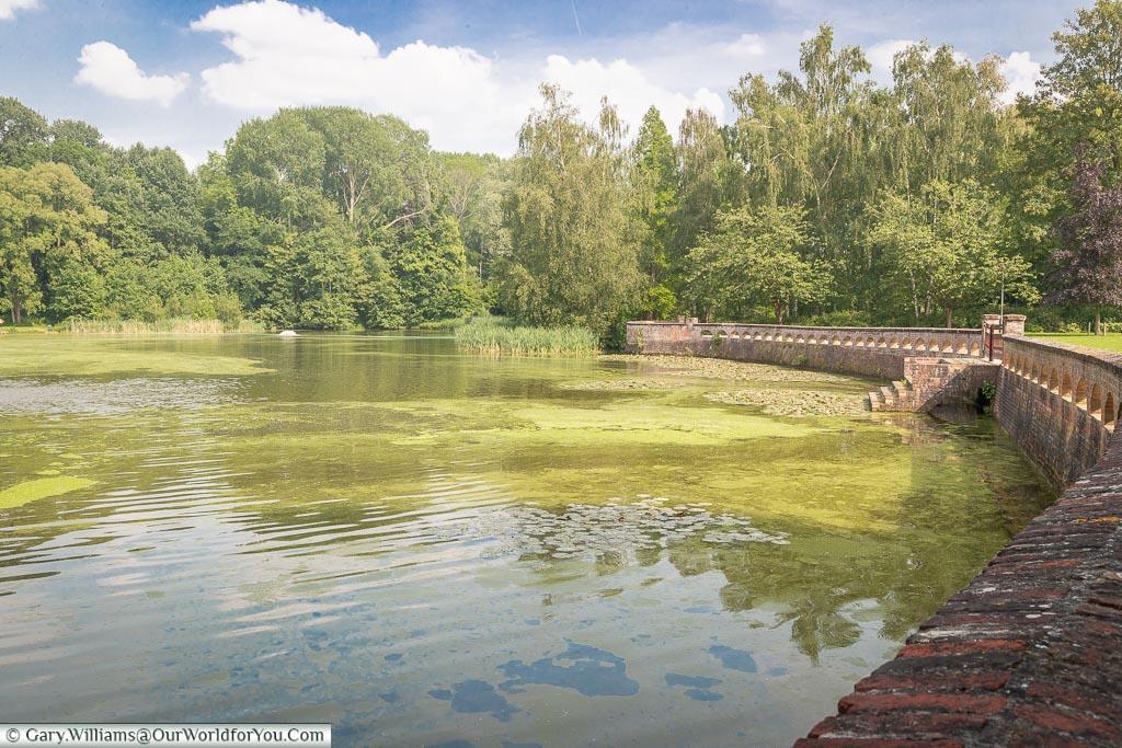 The lake at the musuem, Passchendaele, Belgium