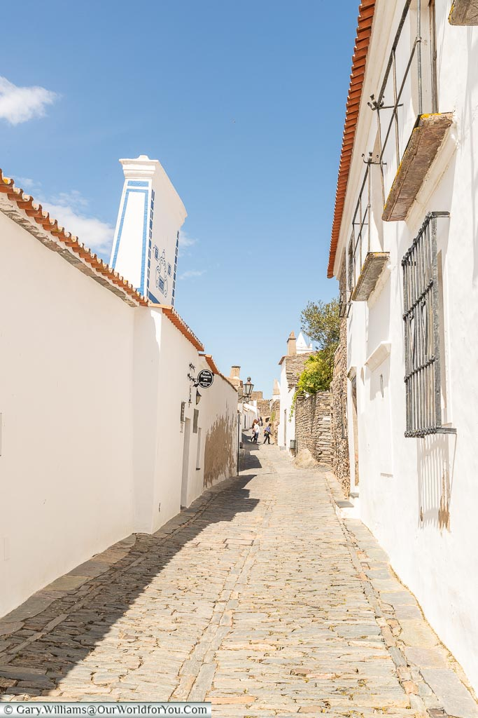 The quiet lanes, Monsaraz, Portugal