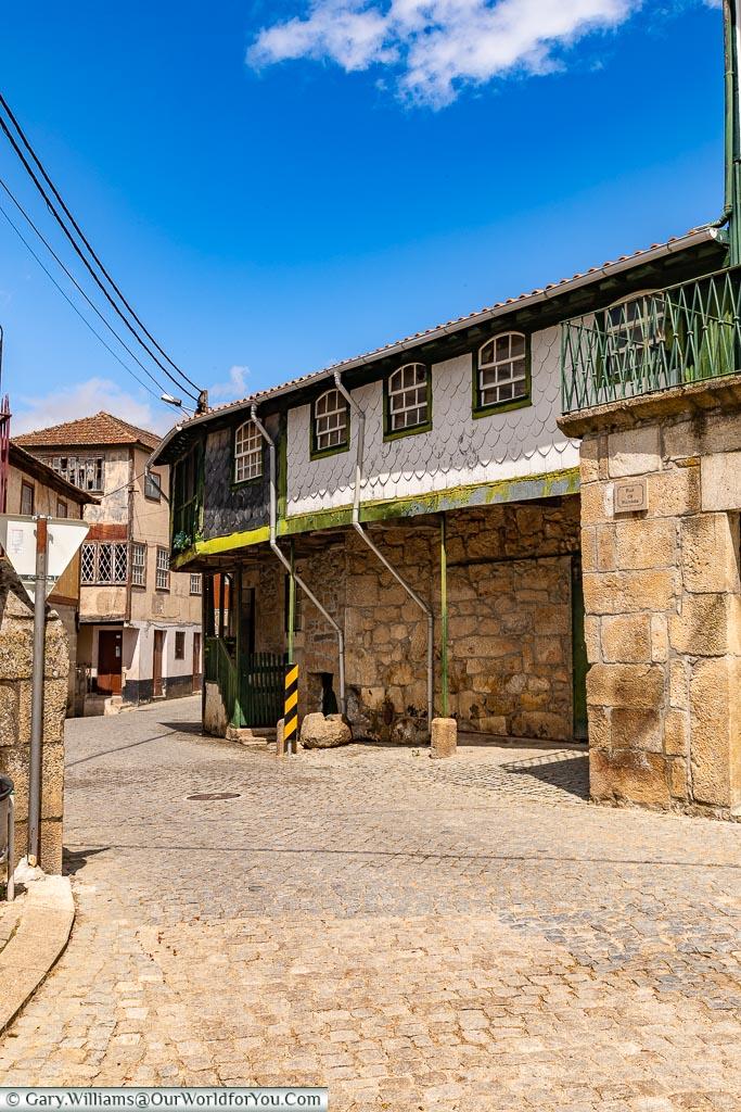 The quiet little village of Salzedas, Douro Valley, Portugal