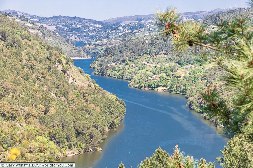 The view to Finzes, Douro Valley, Portugal