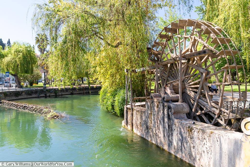 The waterwheel, Tomar, Portugal