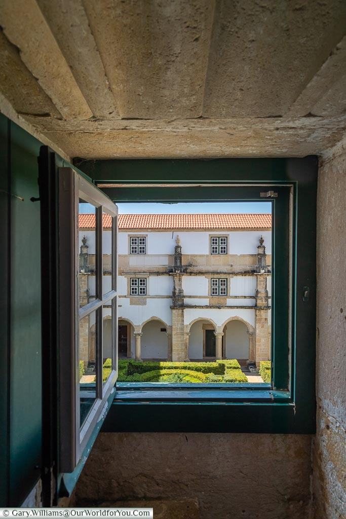 The window seat, Tomar, Portugal