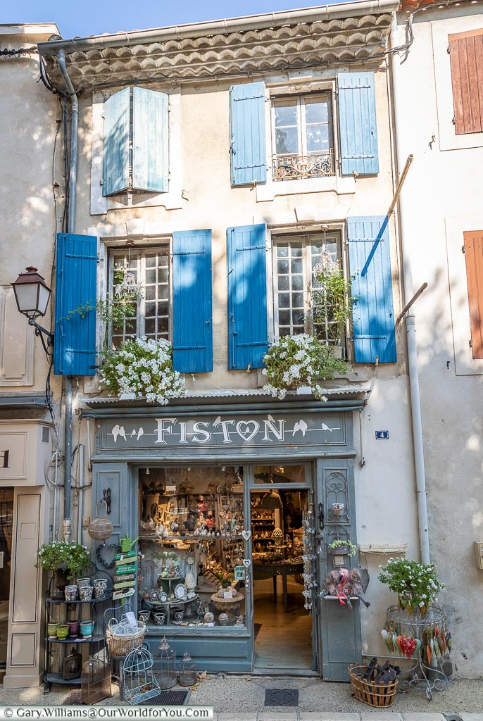 Fiston, St Remy-de-Provence, France