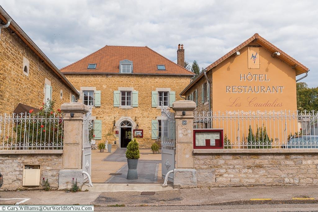Les Caudalies - Hotel and Restaurant, Arbois, France