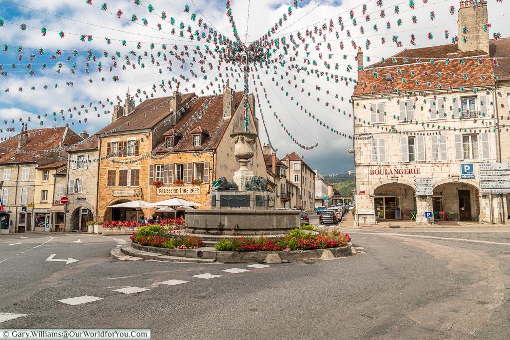 Place de la Liberté, Arbois, France