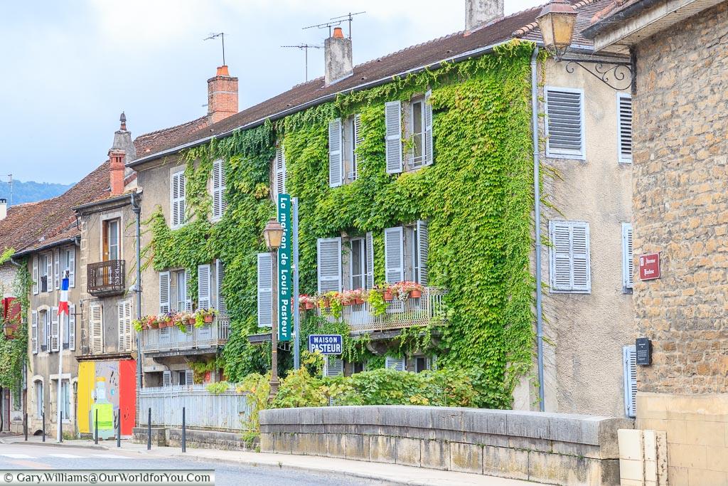 The Pasteur Maison, Arbois, France
