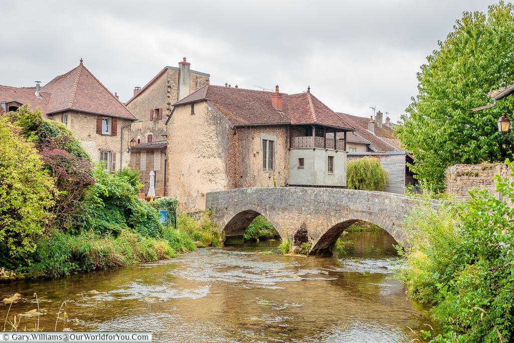 The Pont des Capucins, Arbois, France