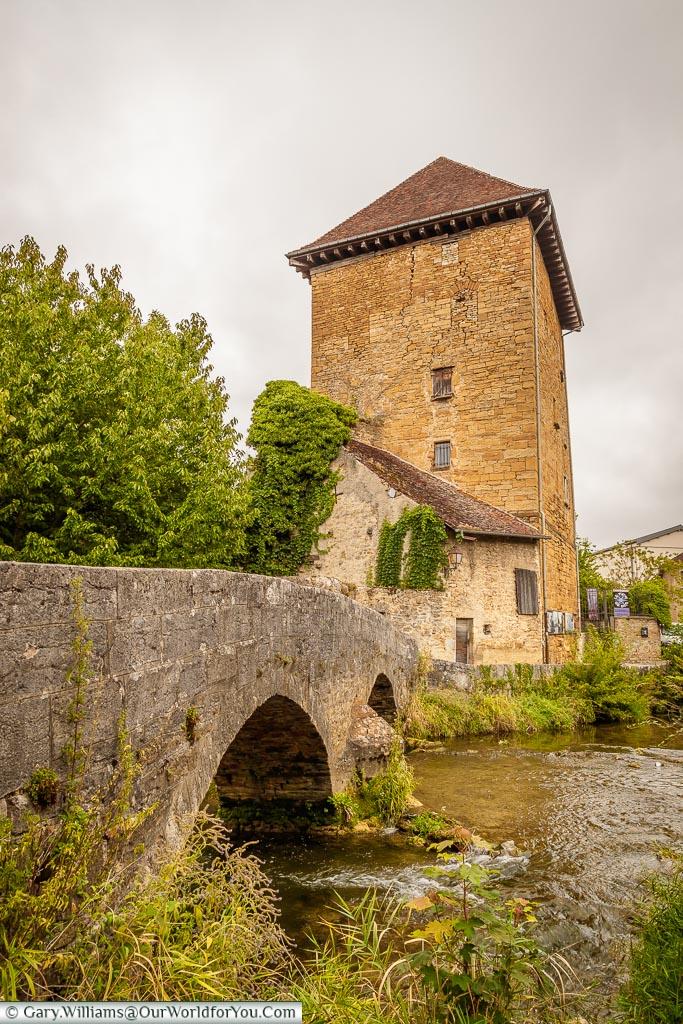 The Tour Gloriette, Arbois, France